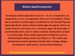 mobile appdevelopment