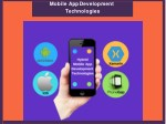 mobile appdevelopment technologies