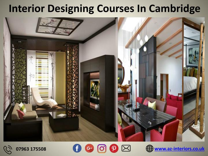 interior designing courses in cambridge n.