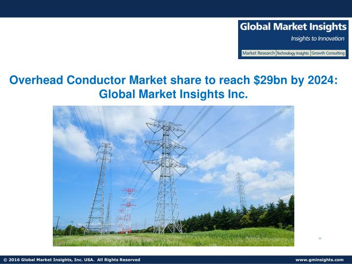 overhead conductor market share to reach 29bn n.