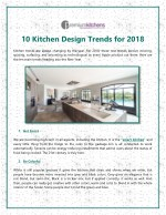 10 kitchen design trends for 2018