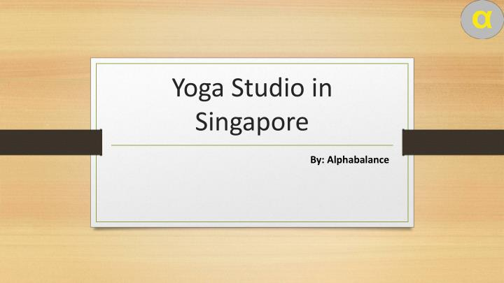 yoga studio in singapore n.