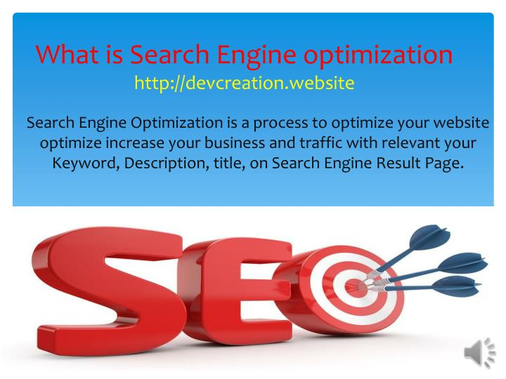 what is search engine optimization http devcreation website n.