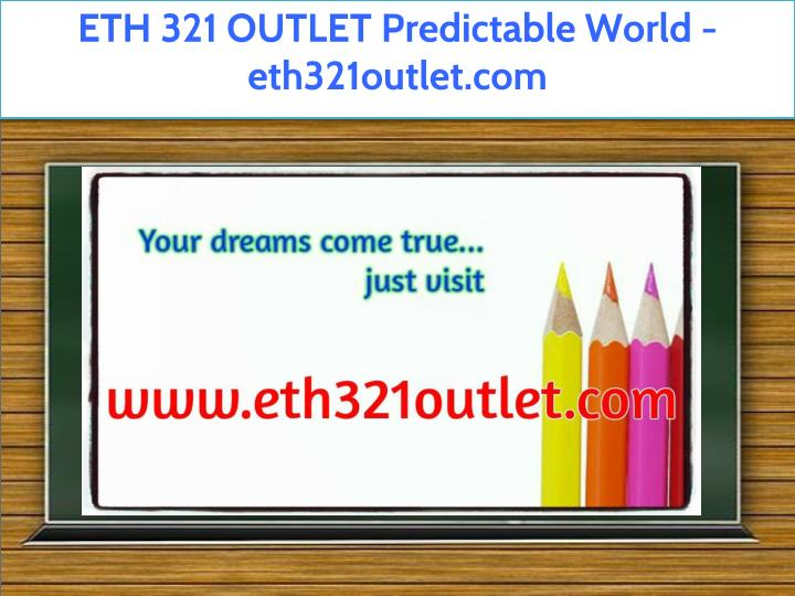 eth 321 outlet predictable world eth321outlet com n.