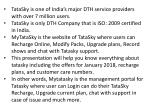 tatasky is one of india s major dth service