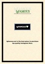 igfamous net is the best place to purchase