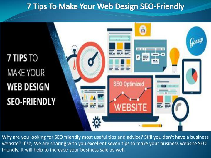 7 tips to make your web design seo friendly n.