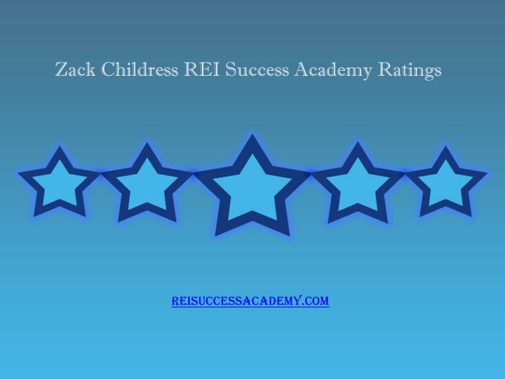 zack childress rei success academy ratings n.