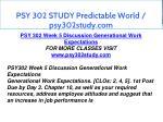 psy 302 study predictable world psy302study com 13