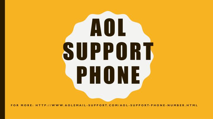 aol support phone n.