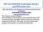 psy 435 master predictable world psy435master com 9