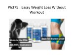 ph375 eassy weight loss without workout