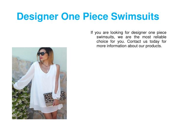 designer one piece swimsuits n.