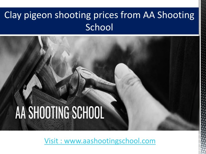 clay pigeon shooting prices from aa shooting n.