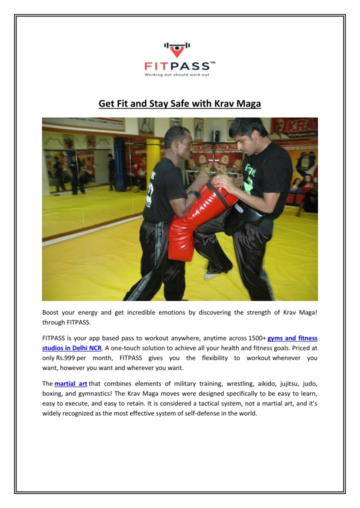 get fit and stay safe with krav maga n.