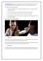 krav maga workouts have been proven effective