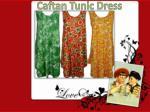 caftan tunic dress