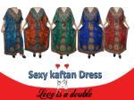 sexy kaftan dress