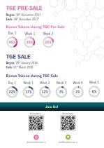 tge pre sale begins 16 th december 2017 ends