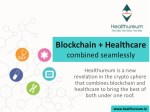 blockchain healthcare combined seamlessly