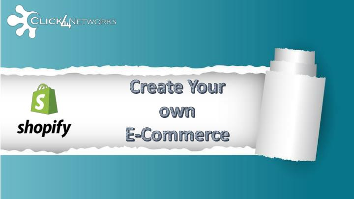 create your own e commerce n.