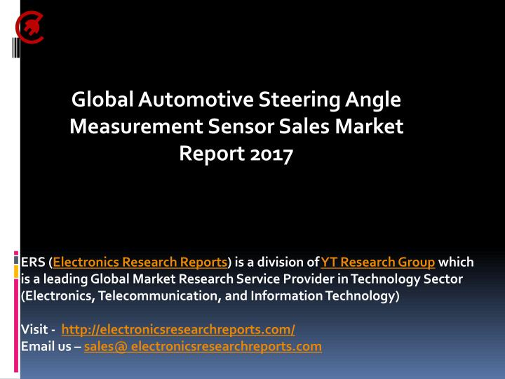 global automotive steering angle measurement n.