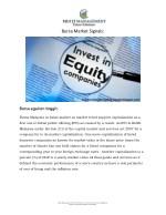 bursa market signals