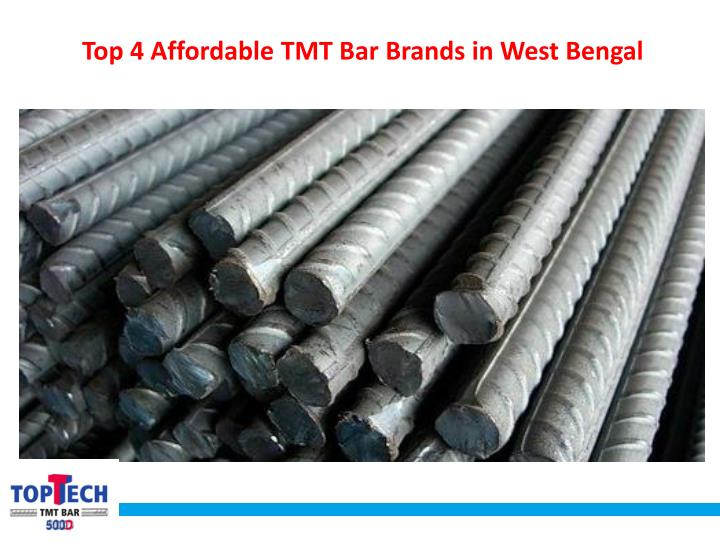 top 4 affordable tmt bar brands in west bengal n.