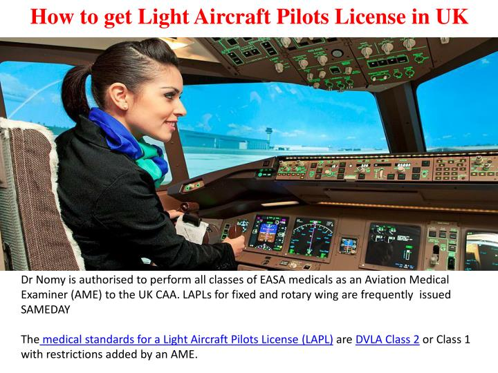how to get light aircraft pilots license in uk n.