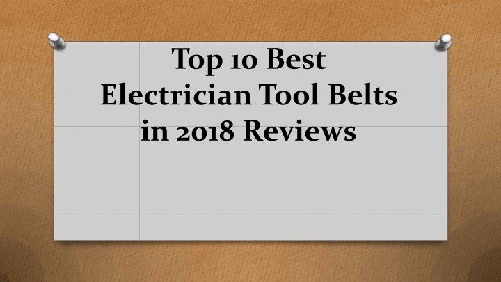 top 10 best electrician tool belts in 2018 reviews n.