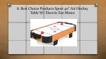 8 best choice products sport 40 air hockey table