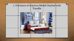 7 furniture of america modal daybed with trundle