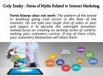 cody emsky series of myths related to internet marketing 5