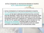 royal experience at destination wedding in udaipur http www behindthescene co in