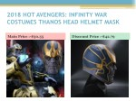 2018 hot avengers infinity war costumes thanos