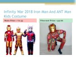 infinity war 2018 iron man and ant man kids