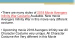 there are many styles of 2018 movie avengers