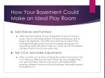 how your basement could make an ideal play room 1