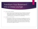 transform your basement into a classy lounge 1