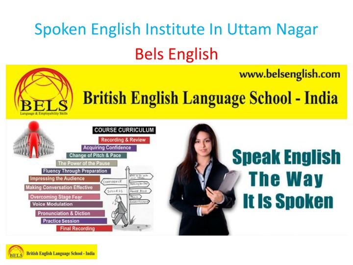 spoken english institute in uttam nagar bels n.