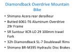 diamondback overdrive mountain bike 1