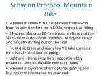 schwinn protocol mountain bike 1