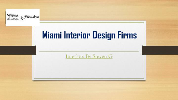 miami interior design firms n.