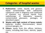categories of hospital wastes 3