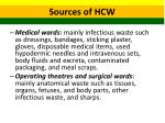 sources of hcw