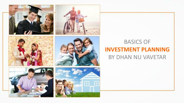basics of investment planning by dhan nu vavetar n.