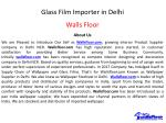 glass film importer in delhi 1