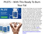 ph375 with this ready to burn your fat