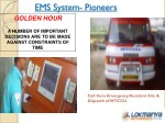 ems system pioneers golden hour