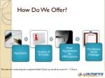 how do we offer